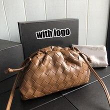 Bolsas de grife de luxo para as mulheres 2021 designer bolsas moda saco de embreagem couro genuíno crossbody mini tecer saco