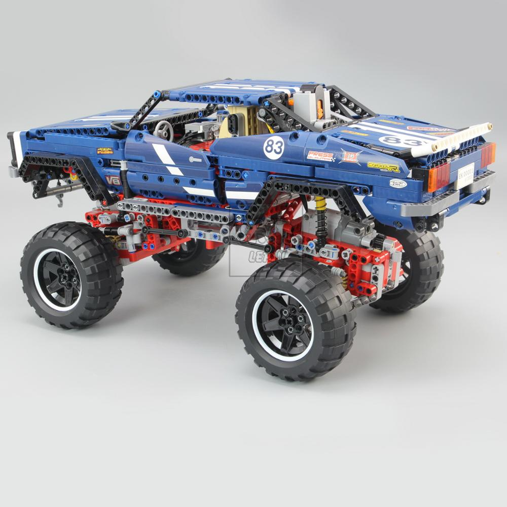 20011 Technic series Motor Power 4x4 Crawler Assembly Car Set Model Kit Building Blocks Bricks Compatible With legoing 41999 TOY 1