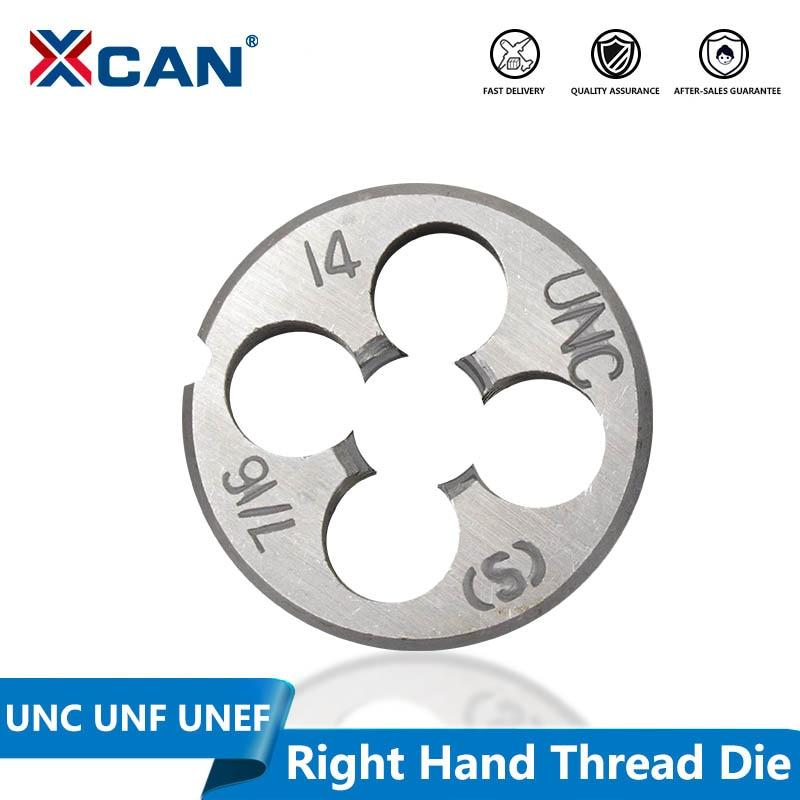"2 pcs 1//2/""-20 UNF Standard Right Hand Die 1//2-20 UNF Threading Die Tools"