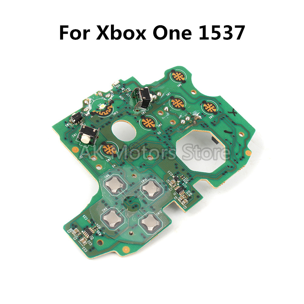 OEM Motherboard For X-box One Controller Model 1537 Replacement Main Power Circuit Board Without Micro USB Port