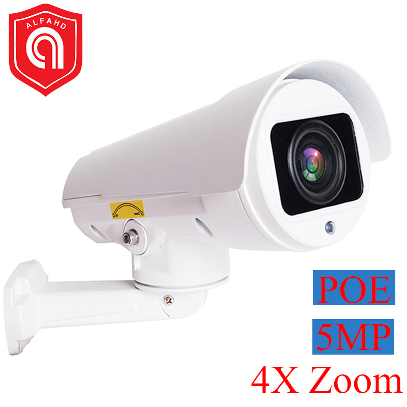 1080P Min Bullet IP Camera POE 4X Optical Zoom 5MP 2MP H265 Outdoor Surveillance CCTV IP Camera Onvif Metal Housing|Surveillance Cameras| |  - title=