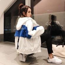 3 צבעים 2019 Harakuju BF Loose אביב סתיו מעילי Harakuju מפציץ מעילי נשים מעיל רוח מעיל הלבשה עליונה חולצות