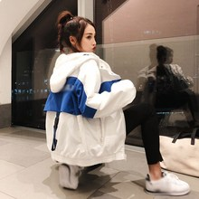 3 Colors 2019 Harakuju BF Loose Spring Autumn Coats Harakuju Bomber Jackets Womens Windbreaker Jacket Outerwear Tops
