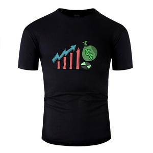 Fitted Money Investment Growth Value Investing Earnings Tshirt Men Hipster Men T Shirts Crew Neck Clothing(China)