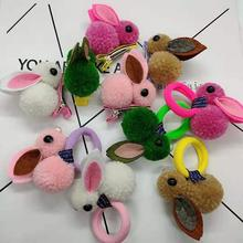 Cute headdress pet hair accessories cat and dog clips New Animals Rabbit Style Hair Bands Childrens Ornaments