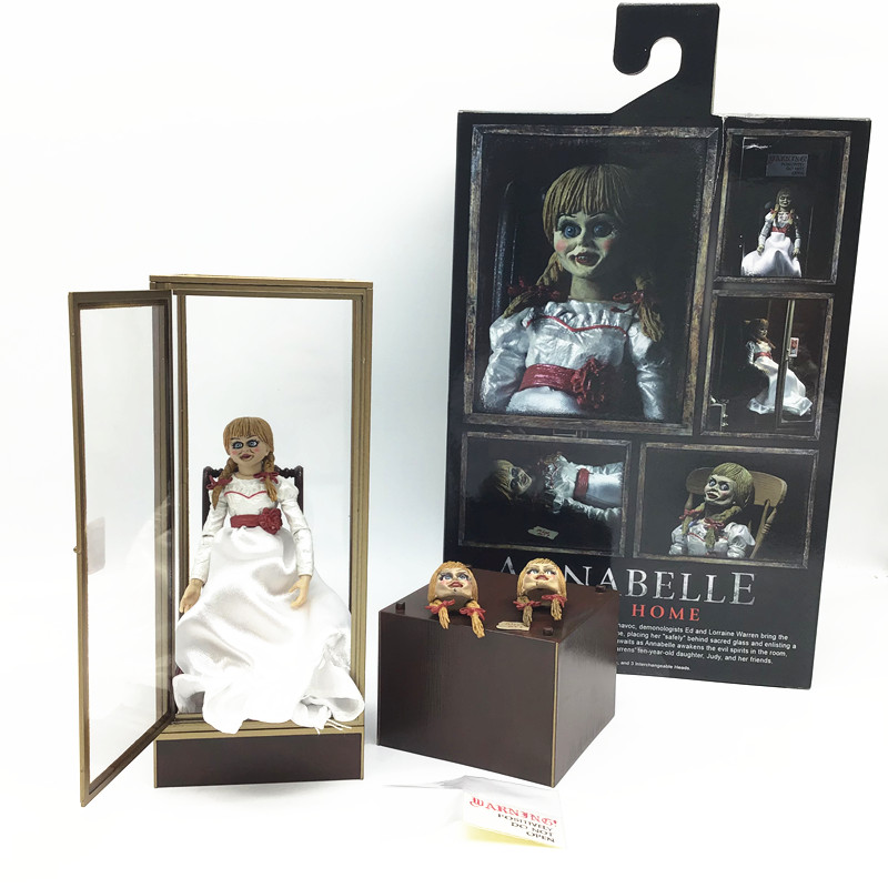 7inch ANNABELLE Figure COMES HOMS NECA Action Figure Model Toy Doll Halloween Horror Gift