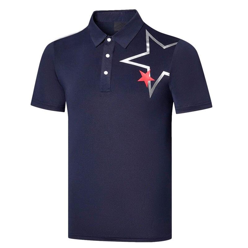 Men New Short Sleeve Golf T-shirt 4 Colors Golf Clothes Anti-Pilling Leisure Sports Golf Shirt  S-XXL In Choice Shirt