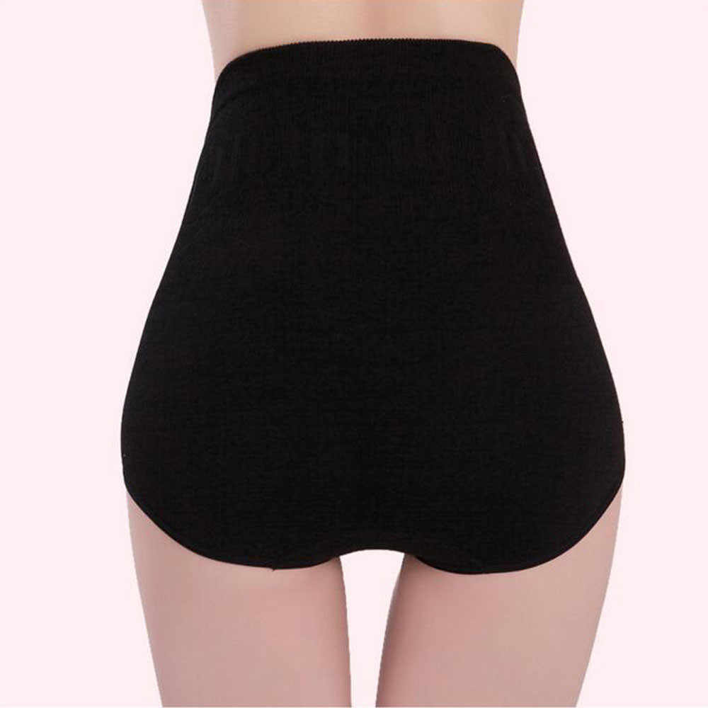 נשים גבוהה מותן גוף Shaper חוטיני תחתוני חלקה בטן בטן בקרת מותניים הרזיה מכנסיים מחוך תחתוני מותניים מאמן