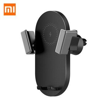 Xiaomi Mijia ZMI WCJ10 20W Wireless Car Charger Holder Fast Charging For Mobile Phone For iphone X XS Huawei SAMSUNG Xiaomi