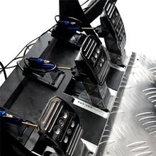 1 مجموعة خنق دواسة فرامل دواسة التخميد سباق الألعاب ل Thrustmaster T3PA/ T3PA برو تعديل خاص الهيدروليكية التخميد عدة