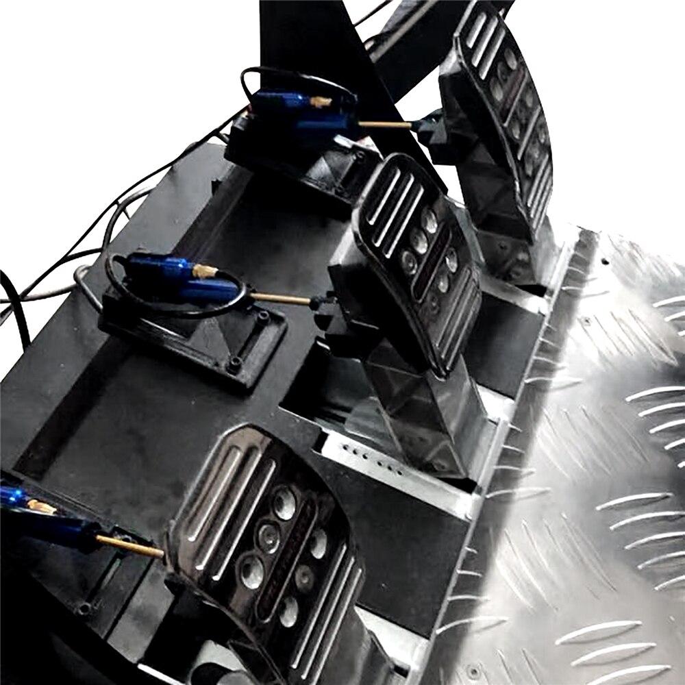 1 jeu d'amortissement de pédale d'embrayage de frein d'accélérateur Racing pour Thrustmaster T3PA/T3PA PRO Kit d'amortissement hydraulique spécial modifié