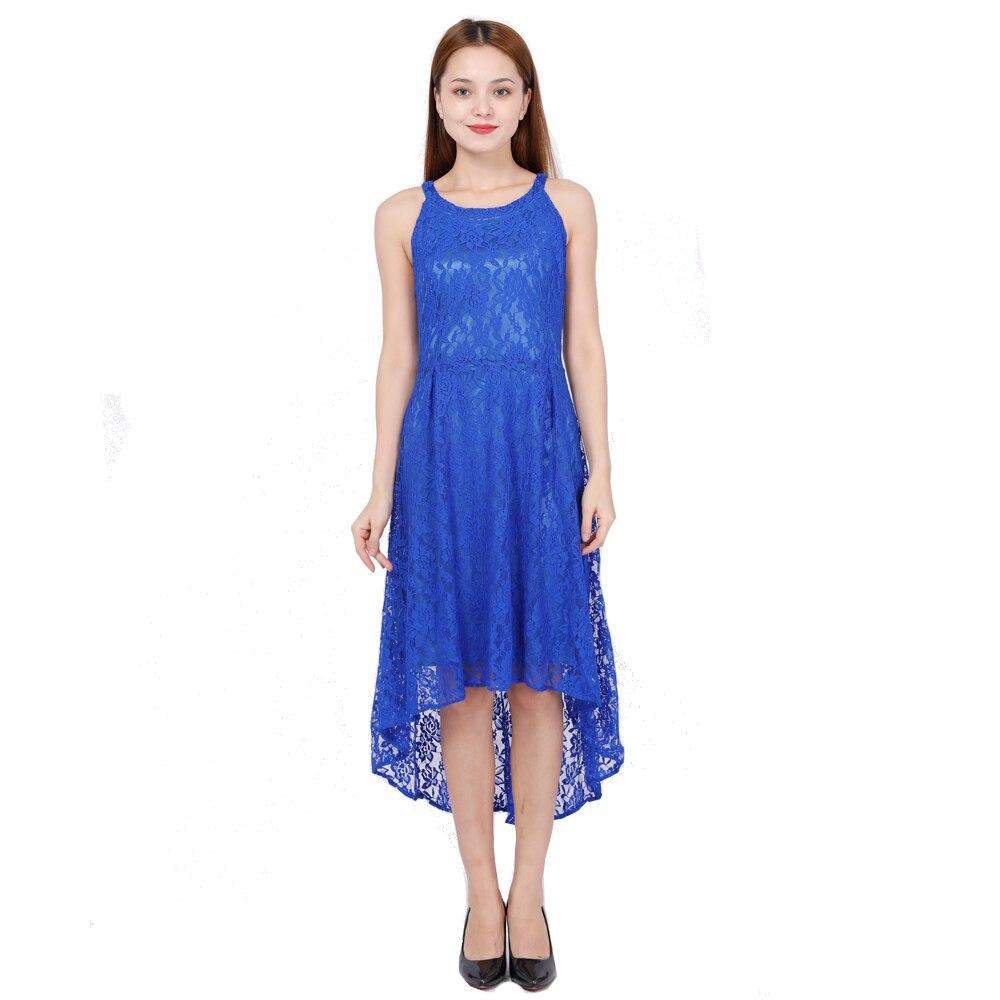 Bellflower Halter Lace Party Dress Women Strapless Sexy Irregular Dresses Ladies Large Size 5XL Elegant Womens
