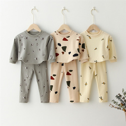 Kids Clothes Sets Baby Boys Girls Sweatshirt + Pants Children Clothing For Spring Baby Boys Girls Clothes