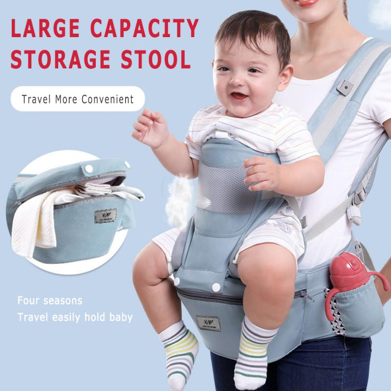 0-48M Newborn Baby Carrier Breathable Ergonomic Backpack Portable Infant Baby Carrier Kangaroo Hipseat Adjustable Baby Sling