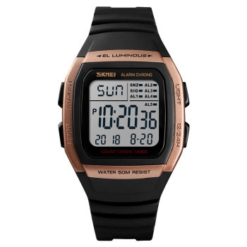 SKMEI Digital Watch Men Luxury Sport Brand Military Analog LED Display Army Mens Watches Hombre Relogio Relojes Montre