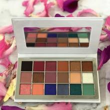 10 Piece Glitter Desert Rose Eyeshadow Power Palette Glitter Highlighter Shimmer Makeup Pigment Private Label