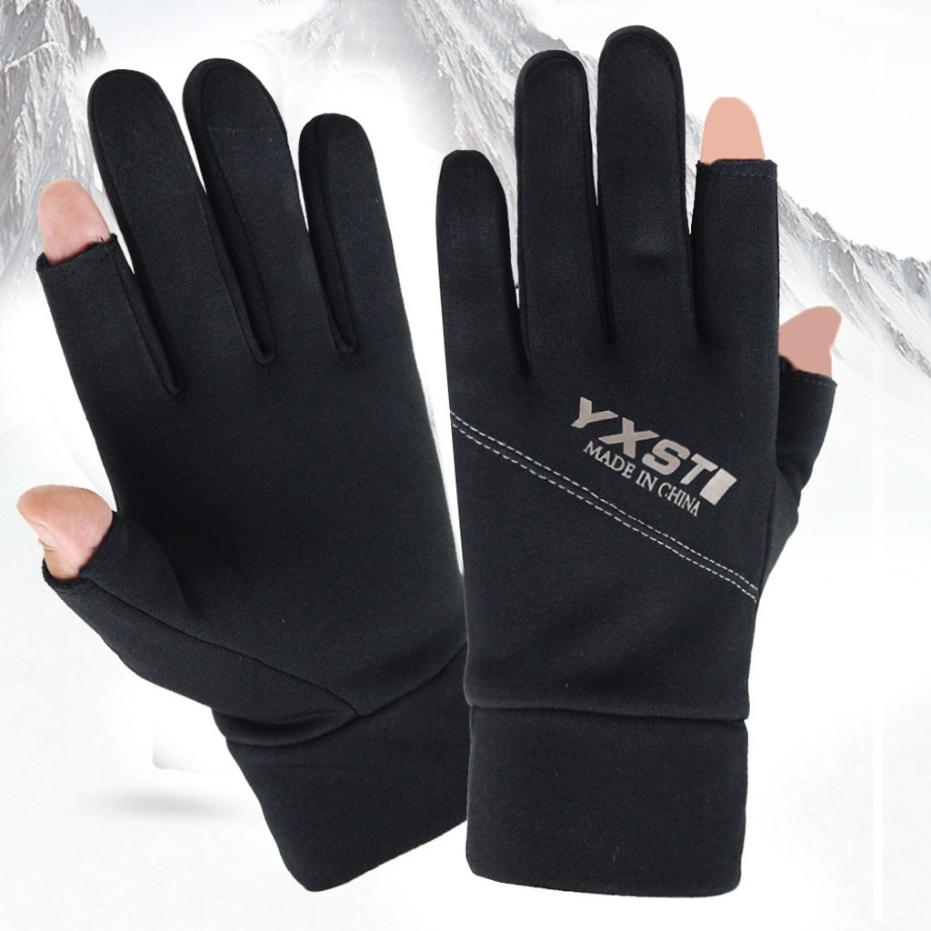 Winter Windproof Waterproof Anti-slip Thermal Touch Screen Gloves Ladies Mens US