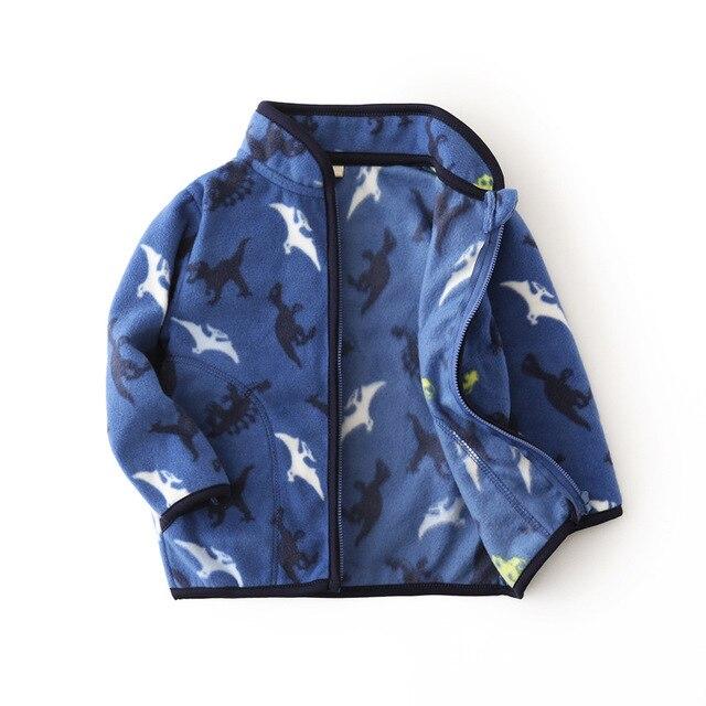 Fleece Baby Coat with Bear Ears 4