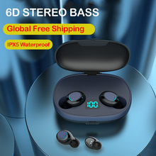 Mini Wireless Bluetooth Earphone Noise Canceling Headphone Sport TWS Waterproof Headset Earbuds In Ear Buds Stereo with Mic HD bluetooth cordless phone headset clip on ear headphone bluetooth earpiece noise canceling earphone with mic bluetooth safe