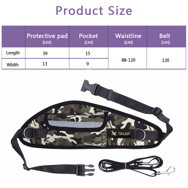 [TAILUP]Pet Products For Large Dog Hands Free Leash Leads Puppy Dog Harness Leash For Animals Dog-Collar Pet accessories PY0001 (4)