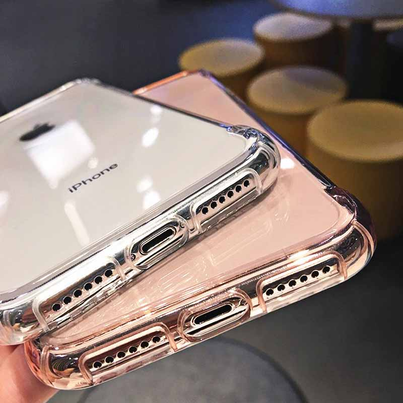 Shockproof Clear iPhone X, XR, XS Max - Iphone 6, 7, 8 Case 9