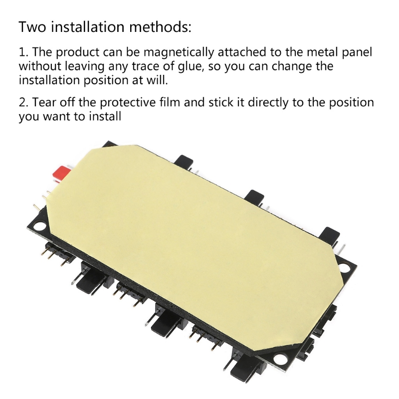 Беспроводной ИК-пульт дистанционного управления адаптер с рмма чехол и Магнитная стойка для охлаждения радиатора Светодиодные ленты 87HA