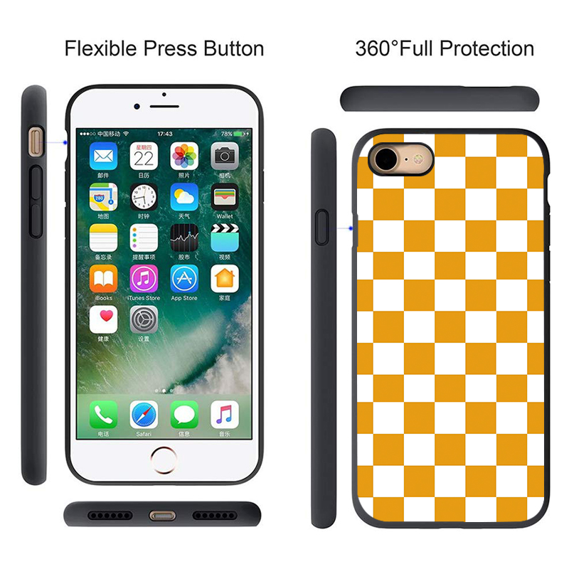 Plaid Pokrowiec Phone Cover Made Of High Quality Silicone Material For A Non Slip Grip