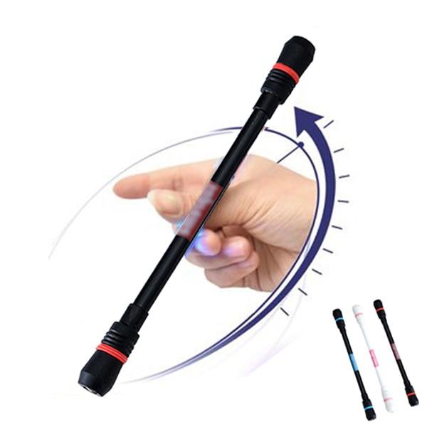 Novelty Rotating Pen Kawaii 0.5mm Blue Ink Erasable Gel Pen For Kids Boy Toy Gift Student Stationery School Office Supplies