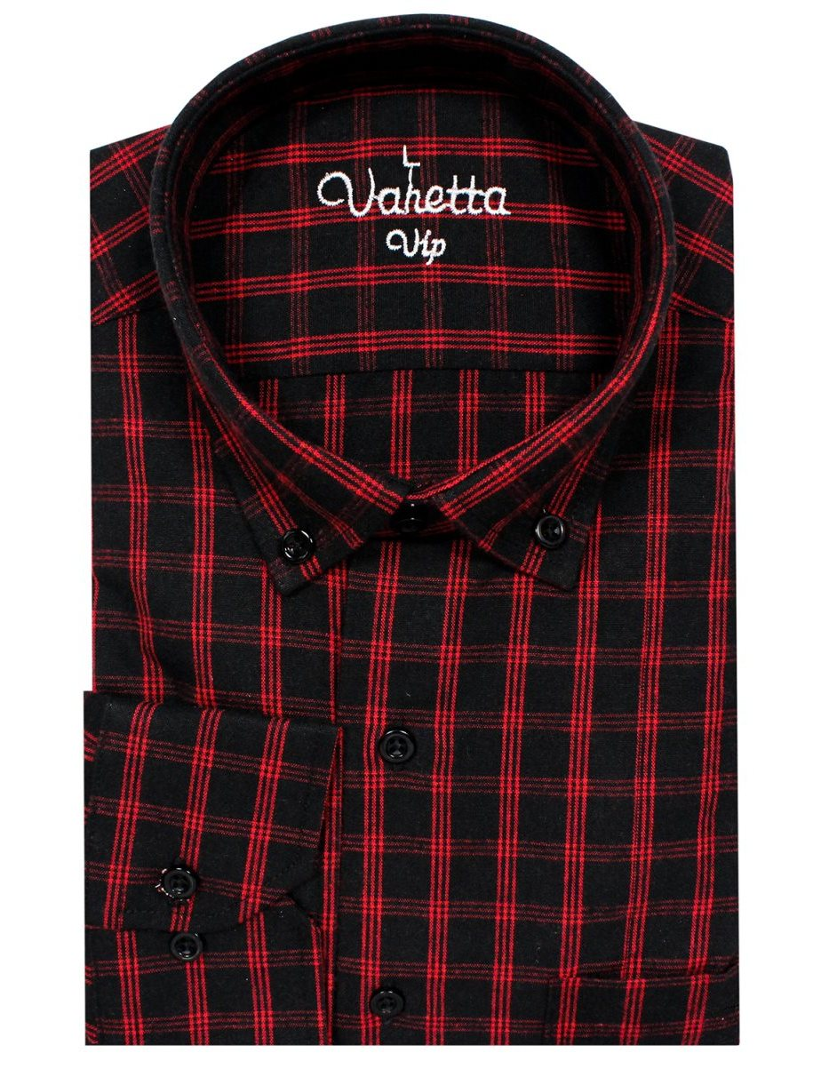 <font><b>Men's</b></font> <font><b>Winter</b></font> Long Sleeve Plaid Flannel <font><b>Fur</b></font> Lined Thick Work <font><b>Shirts</b></font> fleece warm long sleeve <font><b>shirt</b></font> for <font><b>men</b></font> dress <font><b>shirts</b></font> by Varetta image