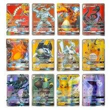 60-100 Pcs Pokemon Card Shining TAKARA TOMY Cards Game TAG TEAM VMAX GX V MAX Battle Carte Trading Children Toy