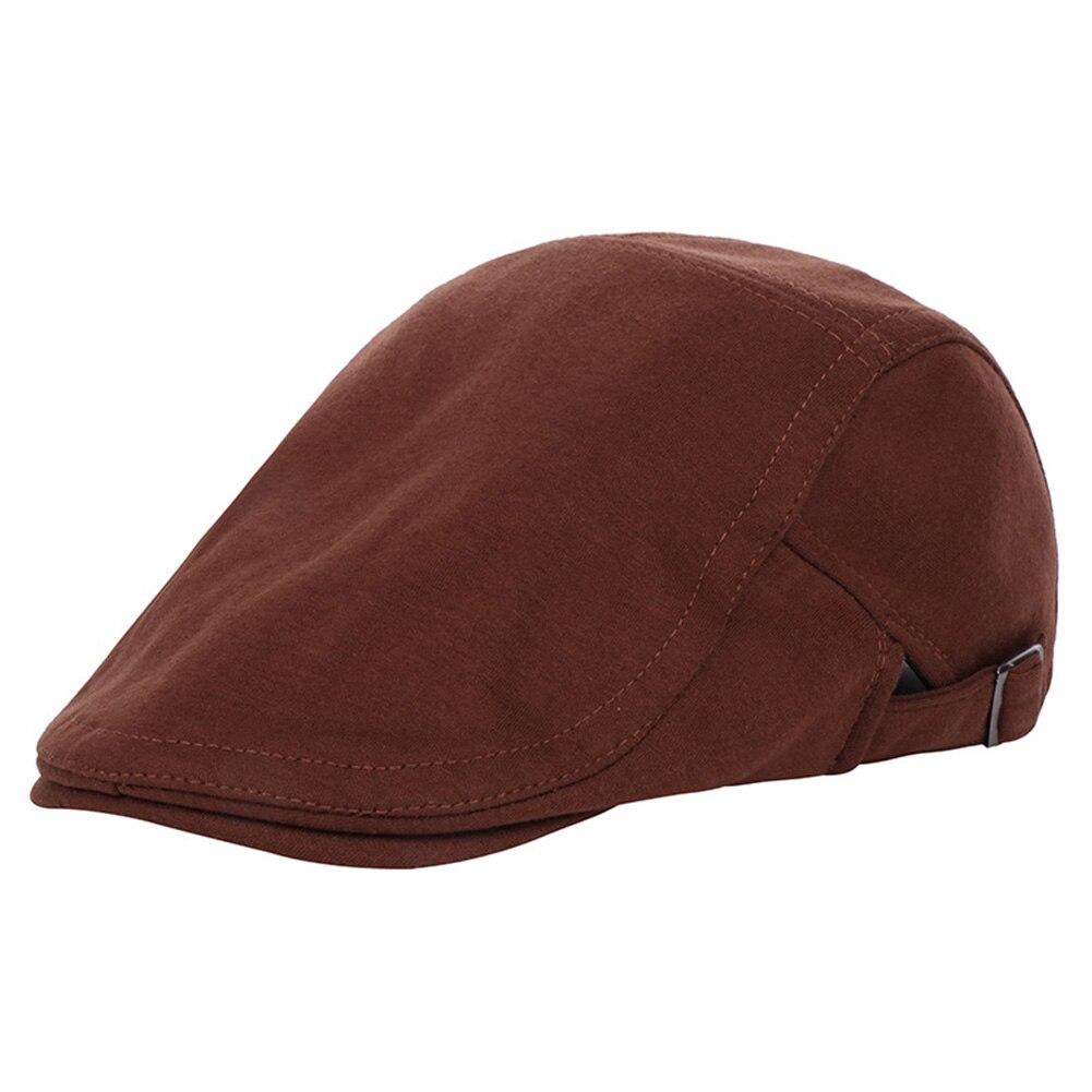 Винтажная хлопковая кепка утконоса среднего возраста, Спортивная Кепка для активного отдыха, регулируемая, для вождения, для солнца, плоская кепка газетчика, унисекс, береты, шляпа, подарок