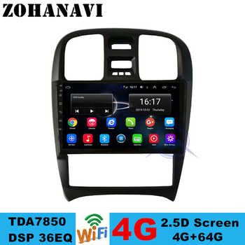 ZOHANAVI 4G+64G Android Car DVD gps for Hyundai sanata Sanat EF Tagaz 2007 2004-2009 CAR radio stereo multimedia player - DISCOUNT ITEM  43 OFF Automobiles & Motorcycles