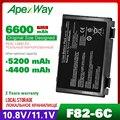 11 1 В Аккумулятор для ноутбука asus K40 K40IN K50 K50IN K50IE K50IJ K60 K61 A32-F82 A32-F52 A32 F82 X8B k50in Pro8DIJ K70AS-X2A k61ic
