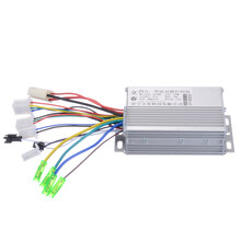 1pc 36 V/48 V 350W Borstelloze Motor Controller Elektrische Fiets E-bike Scooter DC Motor controllers 103*70*35mm(China)