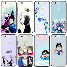 Tempered Glass Case untuk Huawei Mate 20 Y6 Y9 Kehormatan 6X 8 8A 9 10 P20 P30 Plus Lite Pro 2018 2019 Fashion Kartun Yuri On Ice Yuri(China)