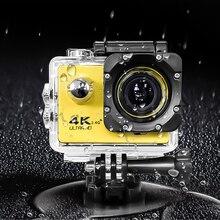 "Kebidumei Cámara de acción F60 / F60R Ultra HD 4K, 30fps, inalámbrica, WiFi, 2,0 "", 170D, cámara deportiva subacuática, impermeable"