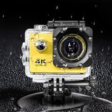 "Kebidumei عمل كاميرا F60/F60R الترا HD 4K 30fps اللاسلكية واي فاي 2.0 ""170D الذهاب كام برو تحت الماء كاميرا رياضية مقاومة للماء"
