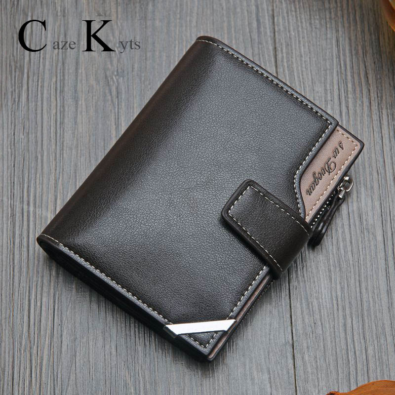New Korean casual men's wallet Short vertical locomotive British casual multi-function card bag zipper buckle triangle folding Men Men's Bags Men's Wallets cb5feb1b7314637725a2e7: 064-2 Black|064-2 Coffee|064-2 gray|065-2 Black|065-2 Coffee|H03-7 black|H03-7 coffee|UB01 Black|UB01 Brown|UB01 Coffee