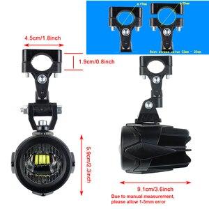 Image 5 - 6500k LED fog light For BMW R1200gs Motorcycle Fog Lamp Driving lamp For BMW R1200GS F800GS F700GS F650 K1600