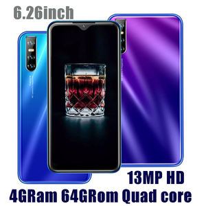 Original M21 Mobile Phone 4G RAM 64G ROM 6.26 inch Water Drop Android Smartphones 13MP Face ID Recognition Unlocked Cell Phones