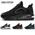 Модные мужские кроссовки OBLYSTEP с воздушной подушкой на всю ладонь, женская обувь для бега на открытом воздухе, спортивная обувь унисекс