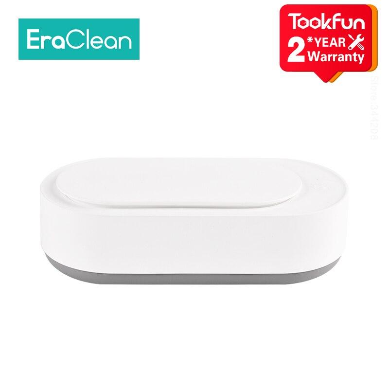 2020 nouveau EraClean Ultra sonique nettoyeurs double noyau sonique vibrateur ultrason nettoyage bain ultrasons wibrator appareil lavage
