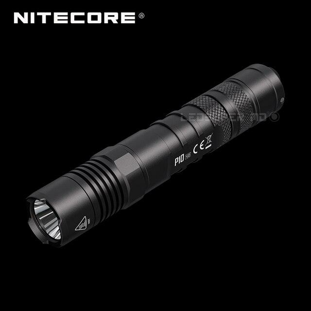 2a generazione NITECORE P10 V2 CREE XP L2 V6 LED strobo pronto™Torcia tattica Ultra compatta da 1100 lumen