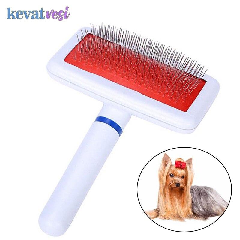 Многоцелевой гребень для кошек собак щетка игла щетка для волос для питомцев Yokie щенок маленькая собака средство для удаления волос для дом...