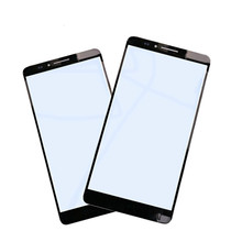 цена на 1Pcs High quality For Huawei Mate 7 Touch Screen Outer LCD Front Panel Screen Glass Lens Cover