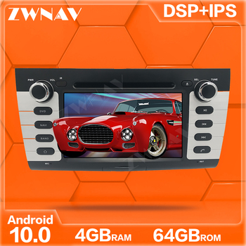 Android 10.0 4G+64GB screen Car DVD Player GPS Navi For SUZUKI SWIFT 2004-2010 GPS Auto Radio Stereo Multimedia Player Head Unit image