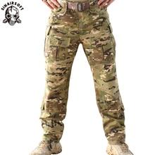TRU 1/4 MCA Zip Suit 립 스톱 개구리 Multicam G3 전투 바지 Arid 65/35 Poly Cotton Caza 사냥 의류 전술 군사 저격수