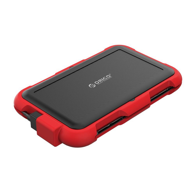 Orico <font><b>2.5</b></font> Inch <font><b>Hdd</b></font> Enclosure Outdoor Waterproof Ip64 Shockproof and Dustproof Hard Disk Box Sata <font><b>3.0</b></font> To <font><b>Usb</b></font> <font><b>Hdd</b></font>&Ssd Case image
