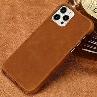 Custodia in vera pelle PULL-UP per iPhone 13 Pro Max 12 Mini 11 12 Pro Max X XR XS MAX 6 6s 7 8 Plus 5s SE 2020 13Pro Max 13 Mini 11 Pro Max 12Pro Max 11Pro Max 7Plus 8Plus 6SPlus 6Plus 7 Plus 8 Plus Crazy Horse Cover
