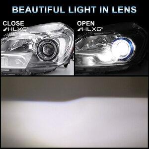 Image 4 - hlxg 120W 9012 HIR2 Fog Lights H11 H1 H8 H9 H7 LED Headlight hb4 hb3 9005 9006 12V 6000K 72 CSP Turbo Car Auto Headlamp Bulbs